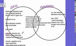 Chemical Bonding Practice Venn Diagram And Directions