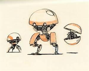 Concept robot sketches by Jake Parker | Future | Pinterest ...