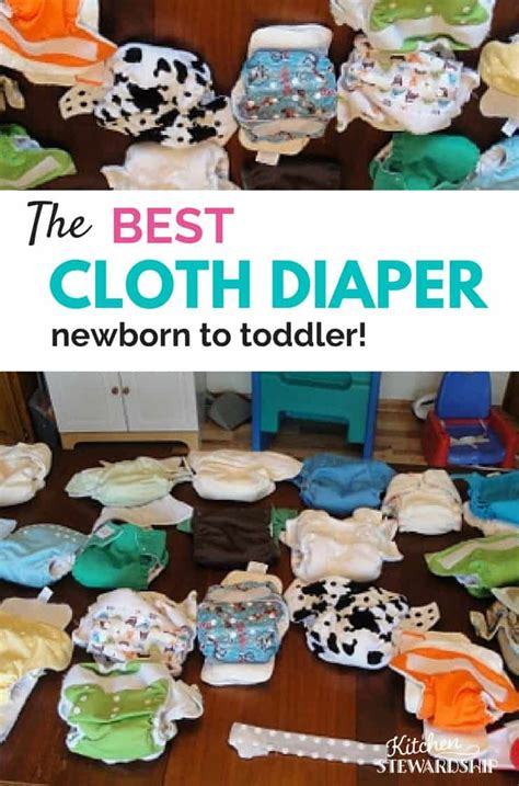 The Ultimate Best Cloth Diaper (newborn To Toddler