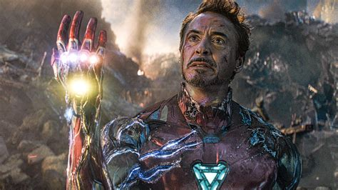 iron man snap scene avengers  endgame