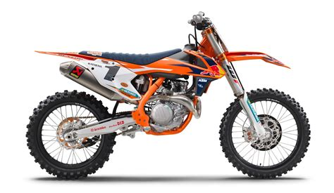 2017 Ktm 450 & 250 Sx-f Factory Edition Motorcycles Unveiled
