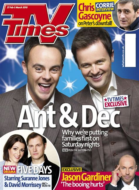 TV Times magazine, 27 February - 5 March 2010 #tv #tvtimes ...