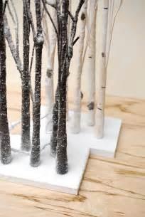 table top birch tree 4 led tabletop 27 quot aspen birch trees