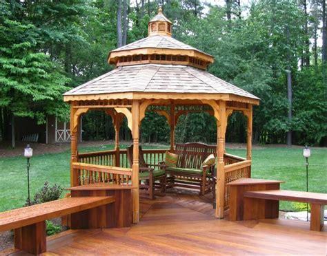 deck with gazebo 110 gazebo designs ideas wood vinyl octagon