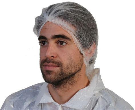 coiffe de cuisine jetable blanche alimentaire