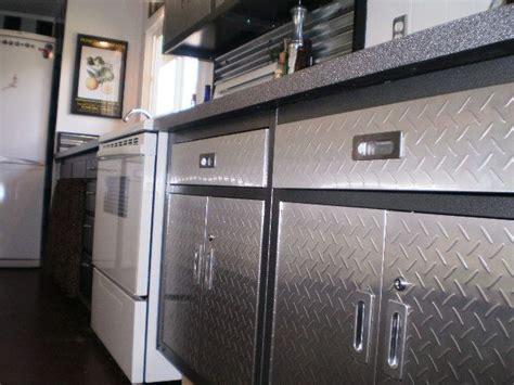 using kitchen cabinets in garage best 25 metal garage cabinets ideas on 8797