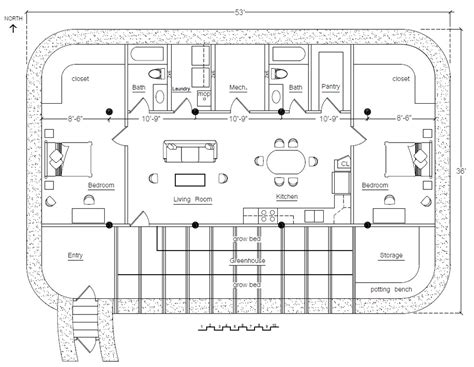 Earthbag House Plans