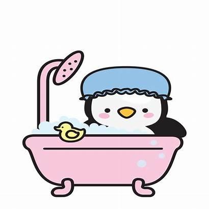 Clipart Animation Shower Showering Sticker Imoji Transparent