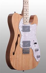 Fender  U0026 39 72 Telecaster Thinline Electric Guitar  Maple With