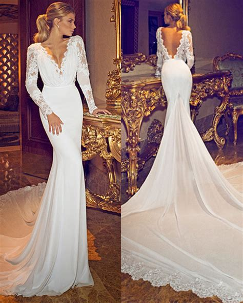 Open Back Wedding Dresses 1 1  Fashionoahm. Wedding Guest Dresses Von Maur. Sweetheart Neckline Wedding Dress Fitted. Big Wedding Dress Bbc. Boho Style Wedding Dresses For Sale
