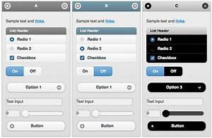 mobile app design dev custom themes with jquery mobile With jquery mobile app templates