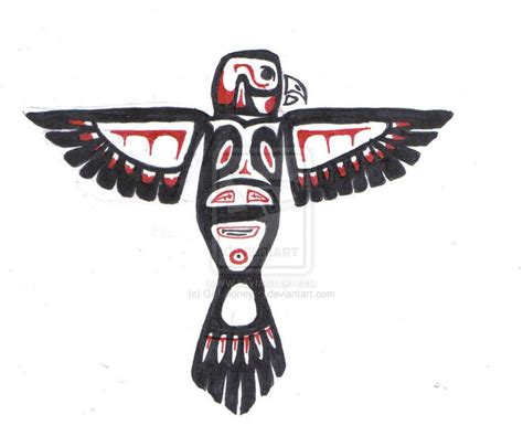 cozy pacific northwest native american art eagle  arts