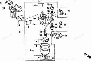 Honda Engine Gcv160 Carburetor Diagram