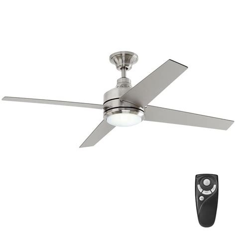 remote control for ceiling fan and light home decorators collection mercer 52 in led indoor
