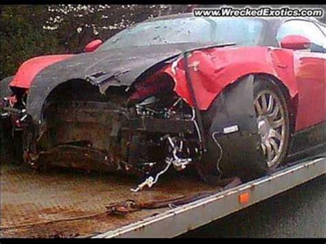 worst bugatti crashes worst car crashes ever youtube