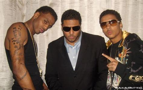 Quincy Brown,his Biological Dad And His Brother Lil Al