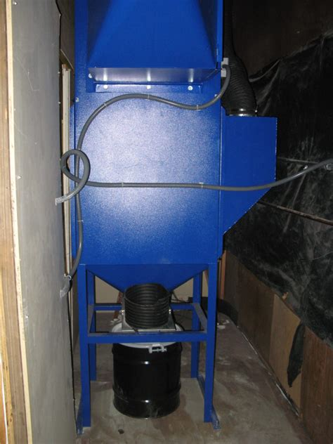 abrasive blast cabinet dust collection air cleaning solutions of