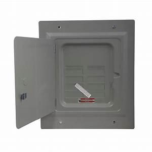 Eaton Br 125 Amp 4-space 8-circuit Indoor Main Lug Flush With Door-br48l125fdp
