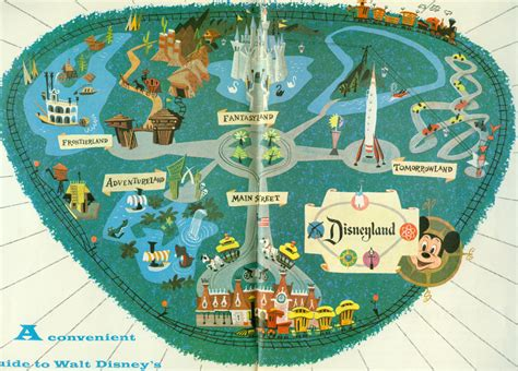 map  disneyland guide   disneyland maps