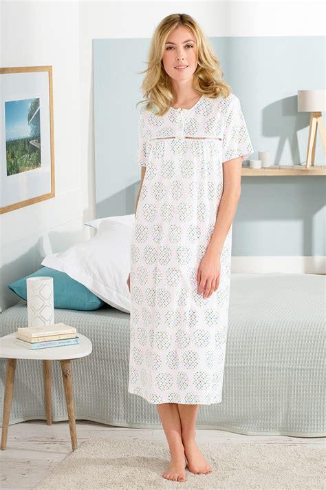 robes de chambre polaire femme chemise de nuit manches courtes nuit robes de chambre