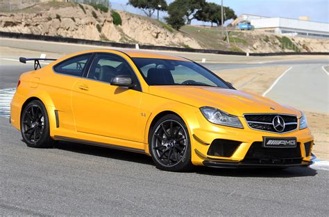 Mercedes-benz C63 Amg Black Series Turns In 7