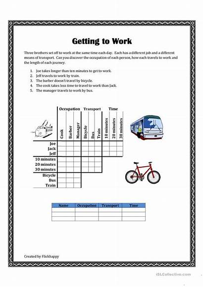 Logic Puzzle Getting Worksheets Printable Worksheet Fun