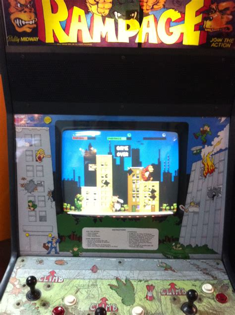 Rampage Video Games Pinterest Arcade And Video Game