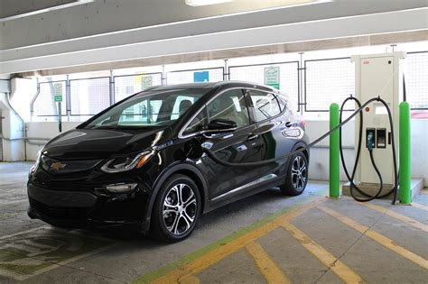 Ev Electric by Fast Charging A 2017 Chevrolet Bolt Ev Electric Car