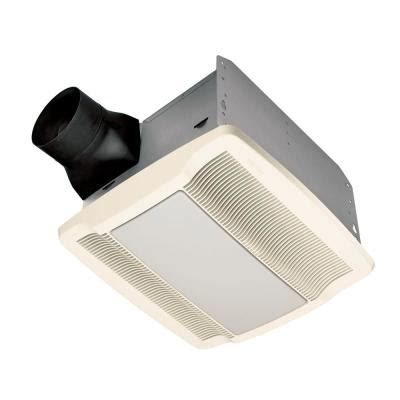 Best Quietest Bathroom Exhaust Fan With Light by Qtr Series 110 Cfm Ceiling Exhaust Bath Fan With