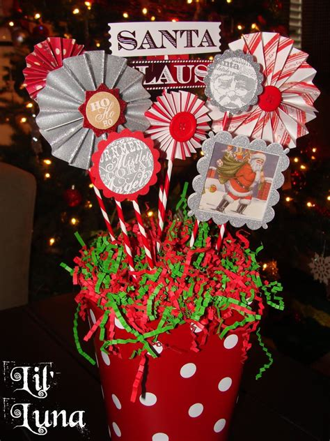 christmas centerpieces deck the holiday s diy christmas paper centerpiece