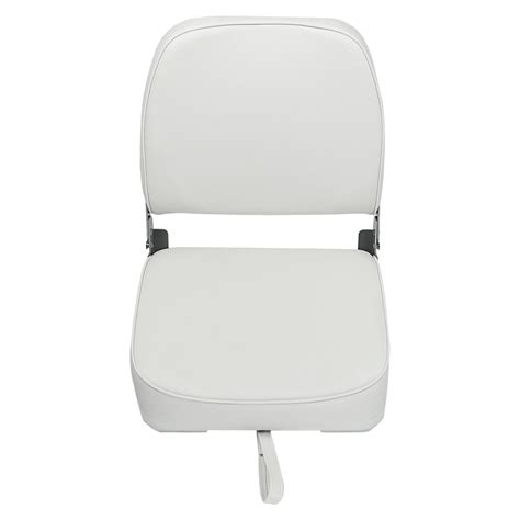White Folding Boat Seat by 2 Deluxe Folding Marine Boat Seats White Ebay