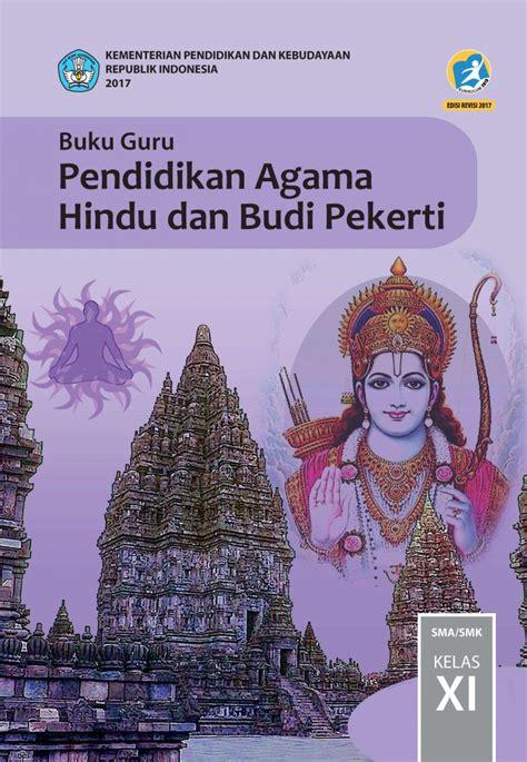buku guru pendidikan agama hindu  budi pekerti kelas