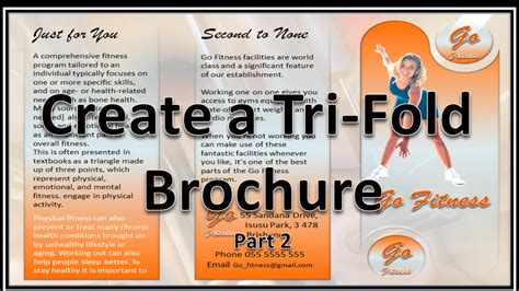 How To Make Powerpoint Brochure Make Brochures That Rock And Roll Powerpoint 2010
