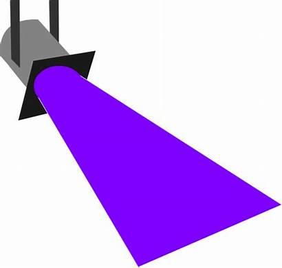 Disco Purple Spot Clipart Spotlight Clip Cliparts