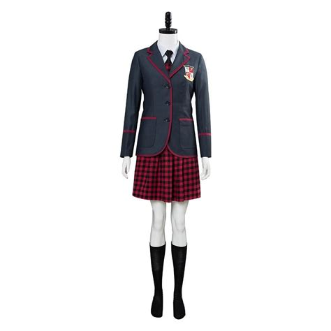 The Umbrella Academy School Uniform Women Cosplay Costume ...