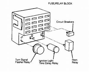 1991 Plymouth Voyager Fuse  Relay  I Need To Know Layout Of