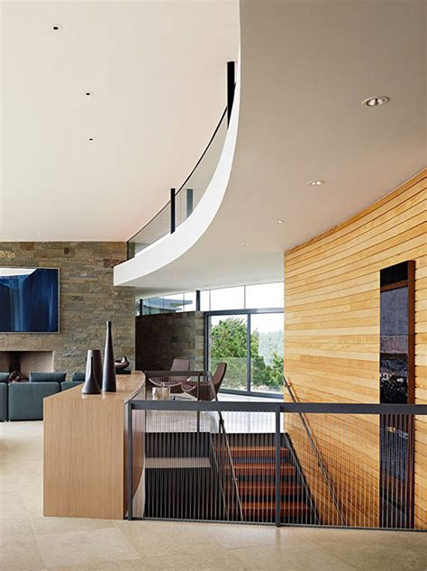 Stunning California Modern Home by Otter Cove Residence Stunning Modern Home On The Coast Of