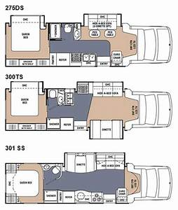 coachmen concord class c motorhome floorplans large picture With toterhome floor plans