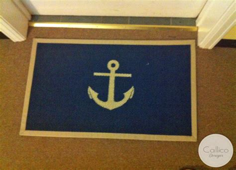 Doormat Designs by Nautical By Nature Diy Anchor Doormat Guest Post By