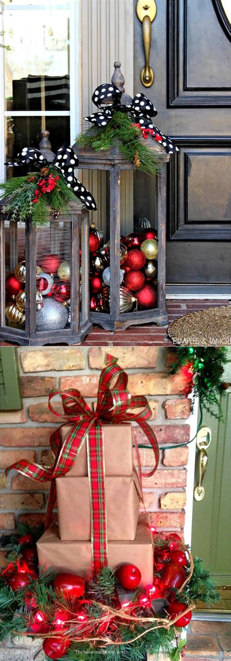how to make outdoor christmas decorations out of wood gorgeous outdoor decorations 32 best ideas tutorials a of rainbow
