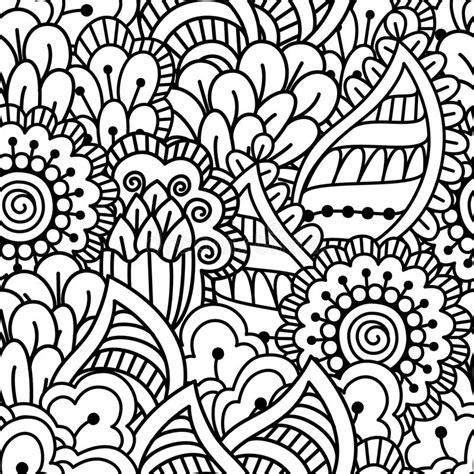 naadloze zwart witte achtergrond vector illustratie illustratie bestaande uit deco 70038555