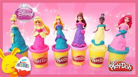 princesses disney en p 226 te 224 modeler play doh en fran 231 ais magiclip titounis