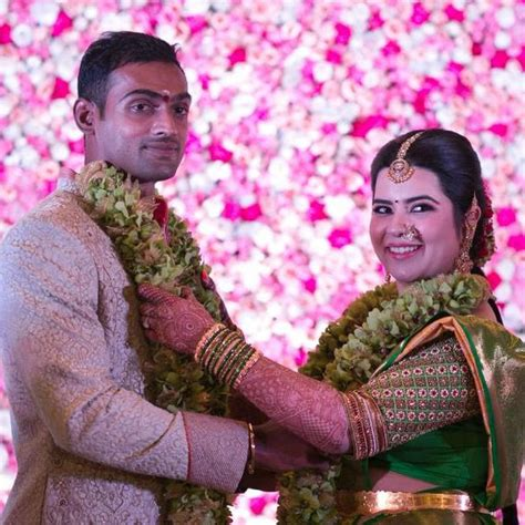 mumbai indians cricketer abhimanyu mithun  engaged