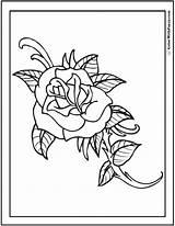 Rose Coloring Pages Cool Printable Simple Rosebud Drawings Fallen Soldier Silhouette Memorial Designlooter Printables Getdrawings Colorwithfuzzy Getcolorings 6kb 762px sketch template