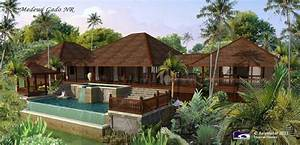 Bali Tropical House Plans