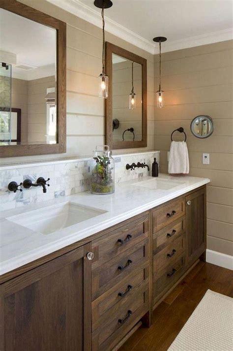 incredible farmhouse master bathroom remodel ideas