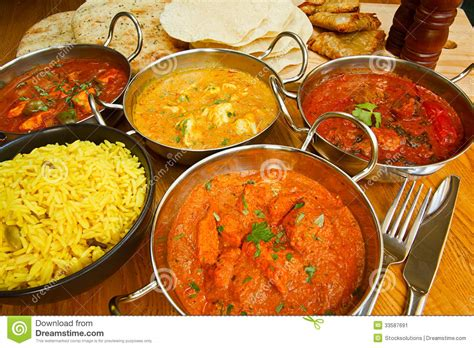 cuisine indienne indian cuisine buffet stock image image of range gourmet
