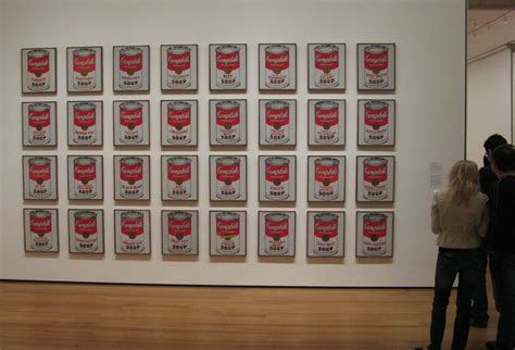 curious cat travels new york city photos cbell s soup cans 1962 andy warhol museum of