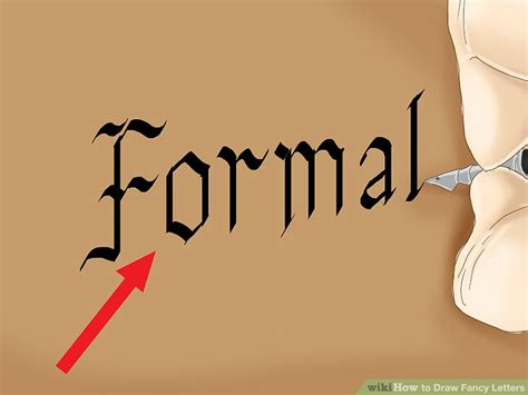 how to draw fancy letters 6 ways to draw fancy letters wikihow 31651