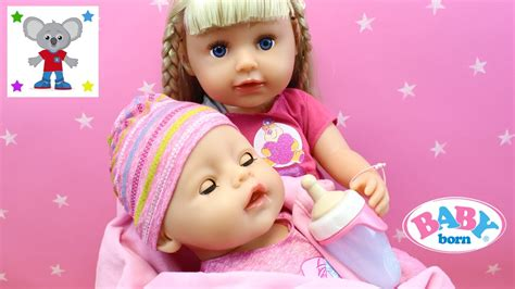 Muñeca Baby Born Que Cuida De Su Hermanita Bebé Recién